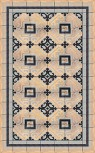 Vinylteppich Ludwig copper 75x120